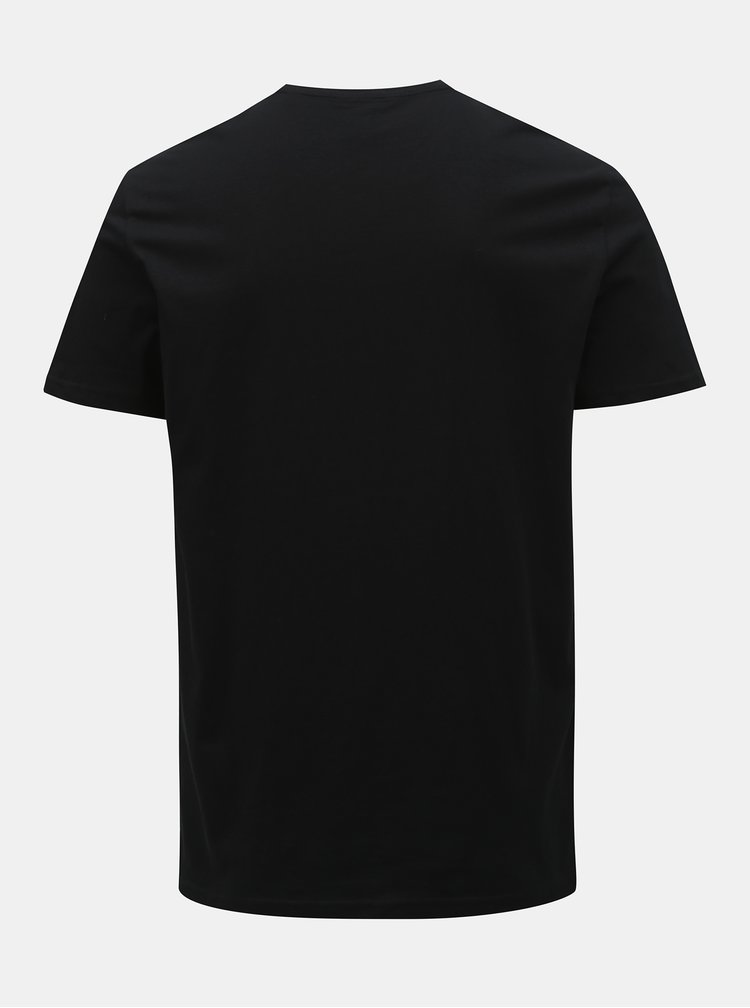 Černé tričko s potiskem ONLY & SONS Pacifica
