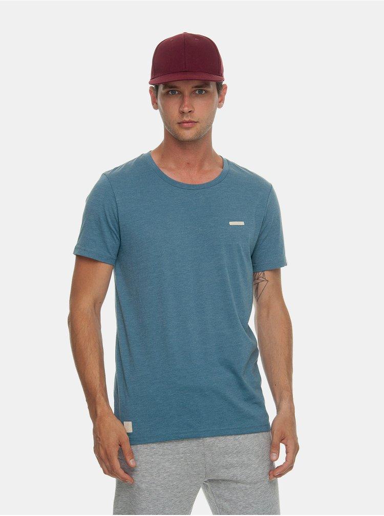 Modré pánské basic tričko Ragwear Paul Organic