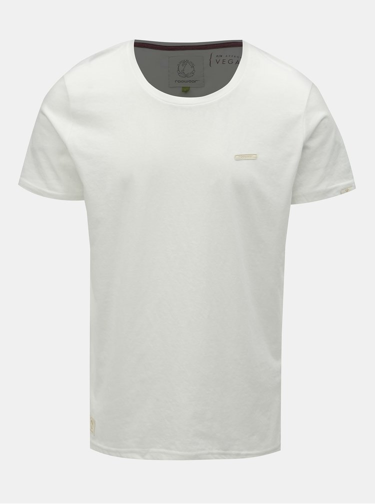 Tricou barbatesc alb Ragwear Paul Organic