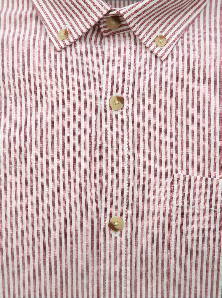 Camasa bordo-alb in dungi Shine Original