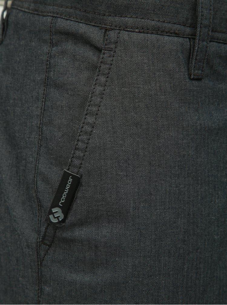 Pantaloni scurti barbatesti gri inchis regular fit Ragwear Liny