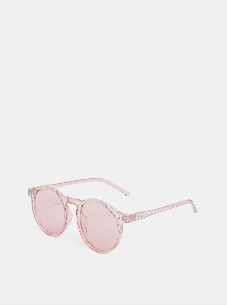 Růžové sluneční brýle Pieces Centucky