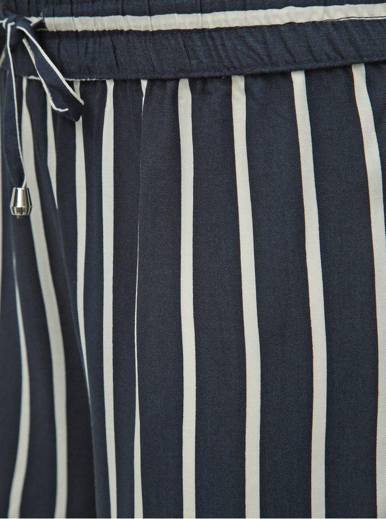 Tmavě modré pruhované kraťasy Jacqueline de Yong Star