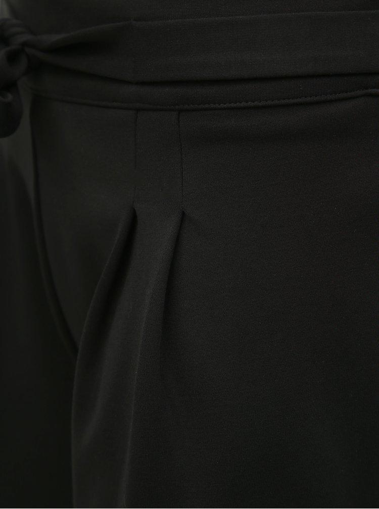 Čierne kraťasy Jacqueline de Yong Curley