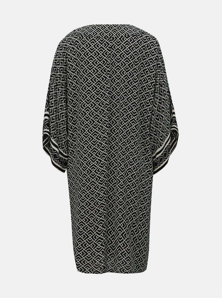 Čierne vzorované kimono Jacqueline de Yong Jackie