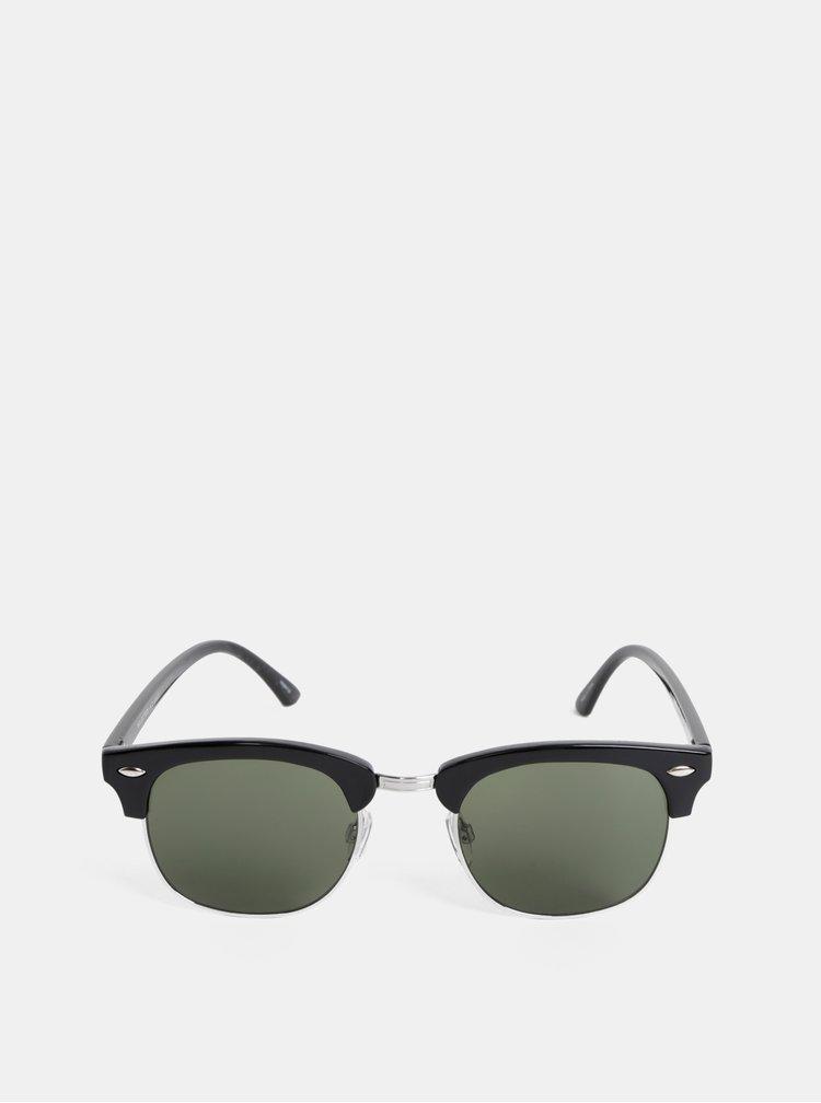 Čierne slnečné okuliare Selected Homme Henric
