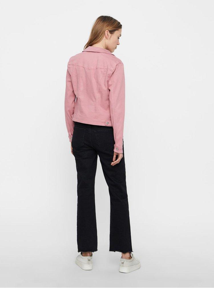 Jacheta roz din denim VERO MODA Hot