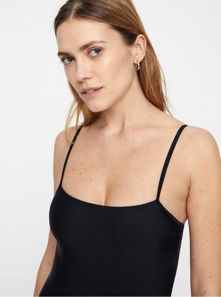 Černé jednodílné plavky VERO MODA Basic