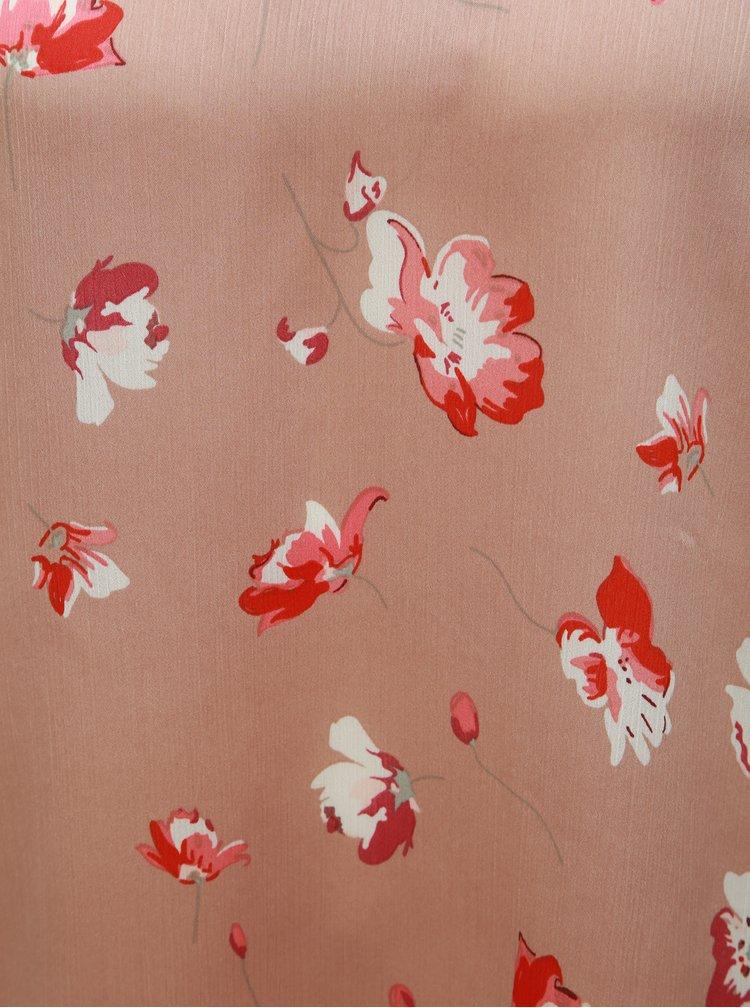Bluza roz prafuit florala ONLY Giza