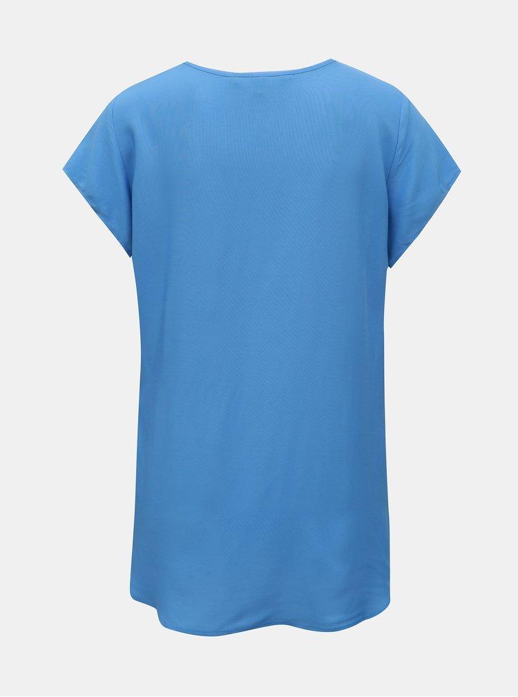 Modrá blúzka VERO MODA Boca