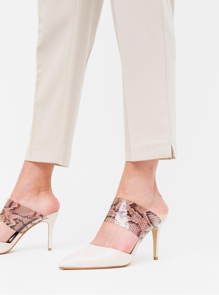Béžové kalhoty Dorothy Perkins
