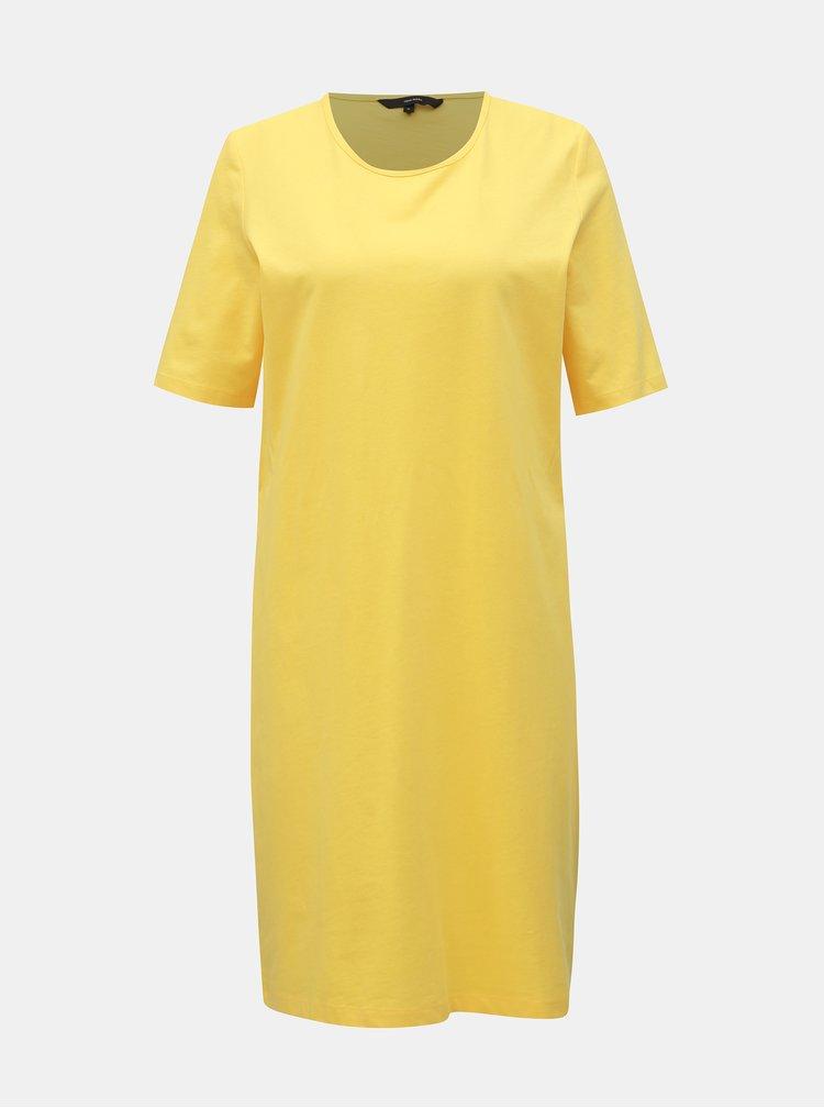 Žlté šaty VERO MODA Alex