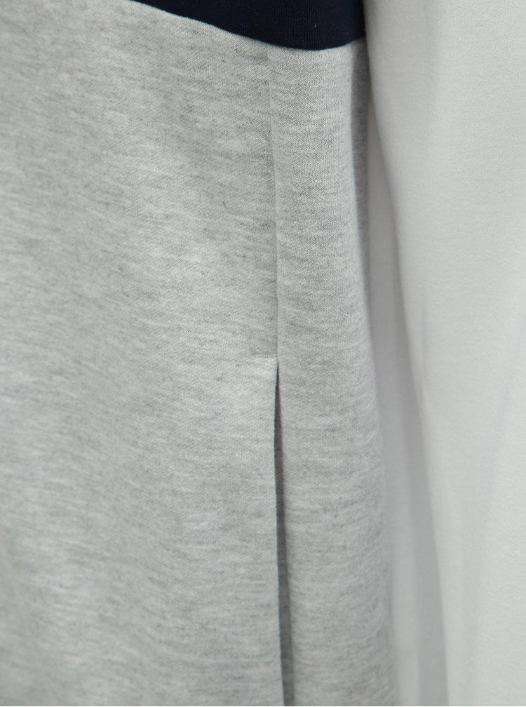 Hanorac gri-alb Jack & Jones Web