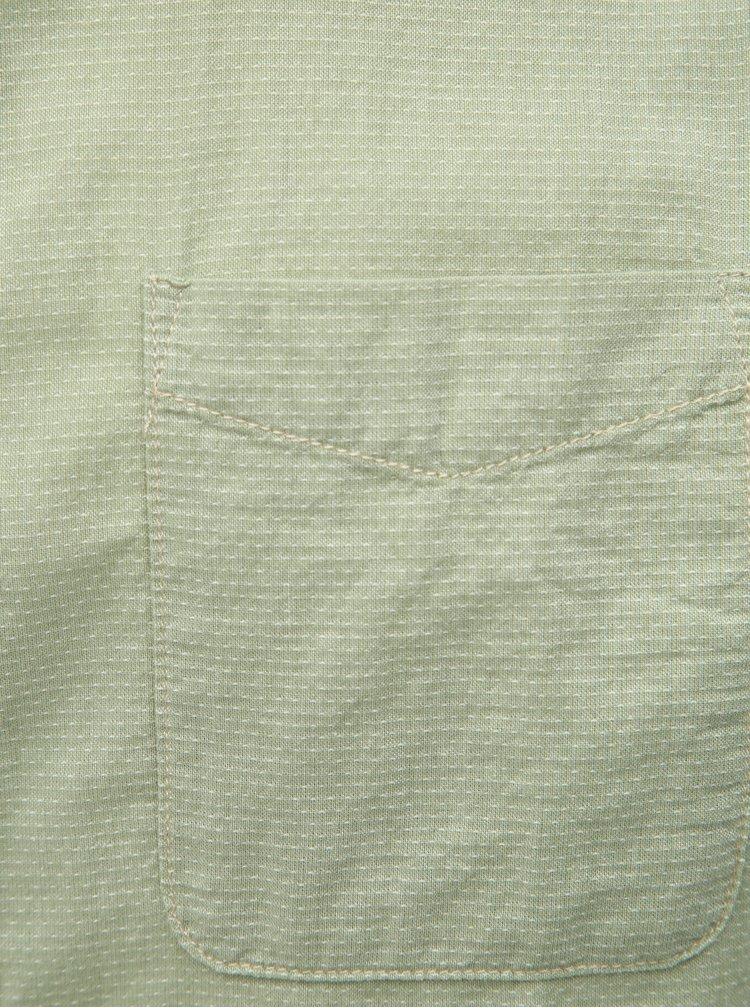 Světle zelená košile Jack & Jones Anthony