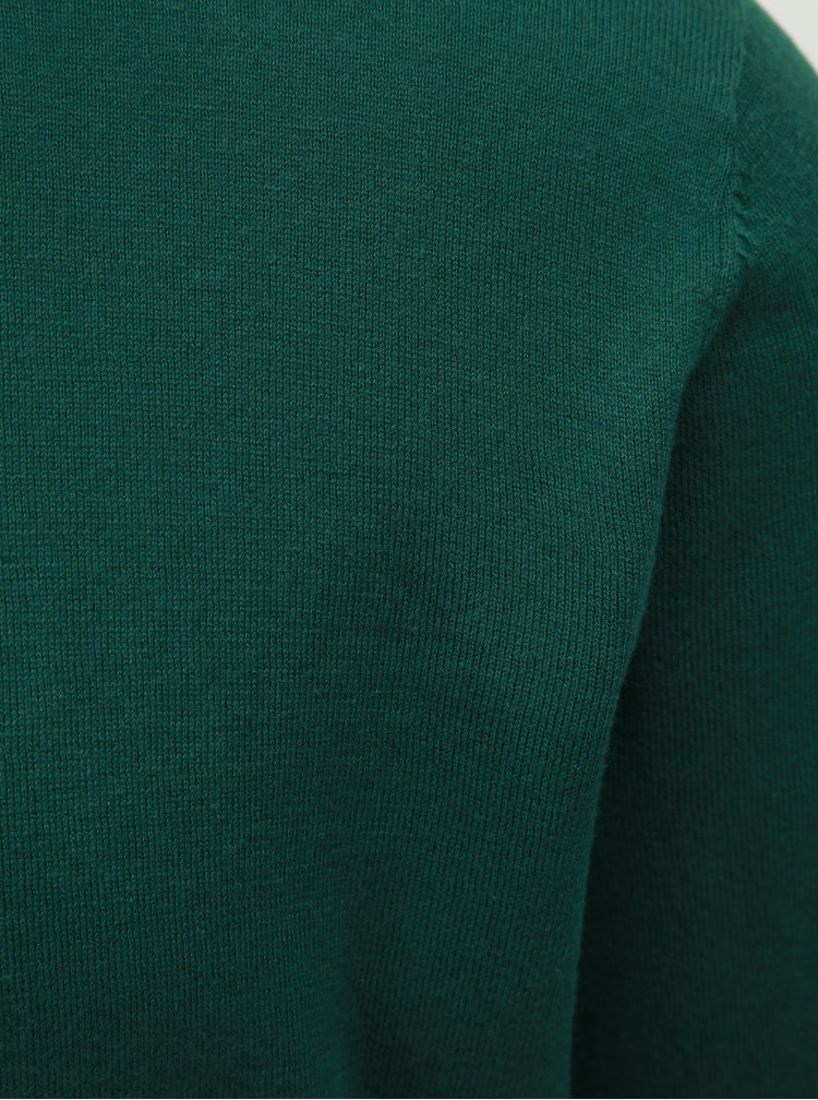 Pulover verde Selected Homme Dome