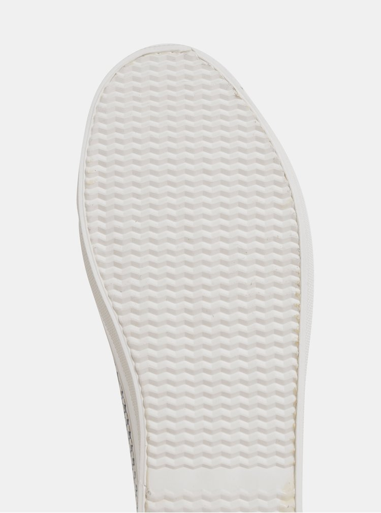 Tmavomodré dámske kockované tenisky U.S. Polo Assn. Trixy