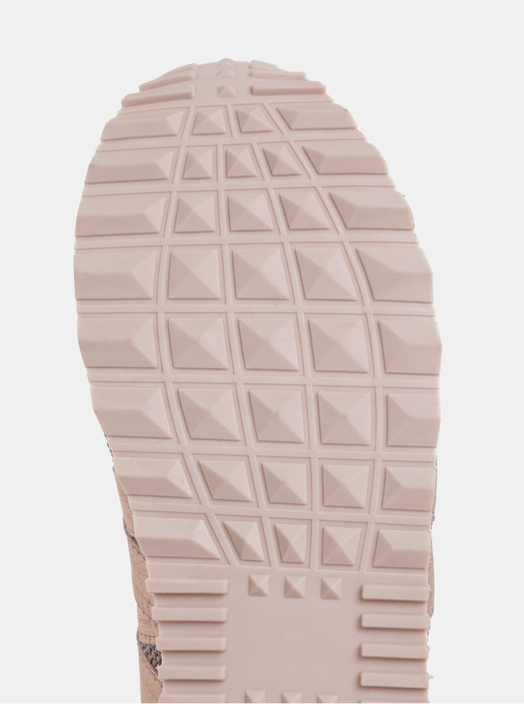 Pantofi sport roz-auriu de dama U.S. Polo Assn. Frida