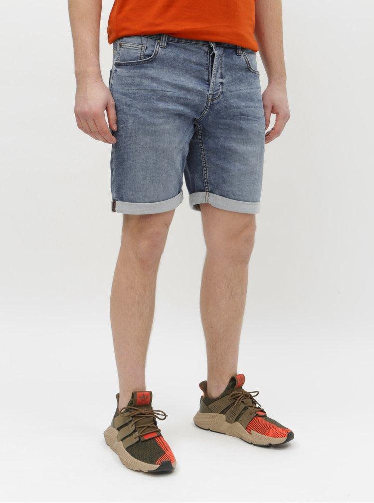 Pantaloni scurti albastri din denim ONLY & SONS Ply