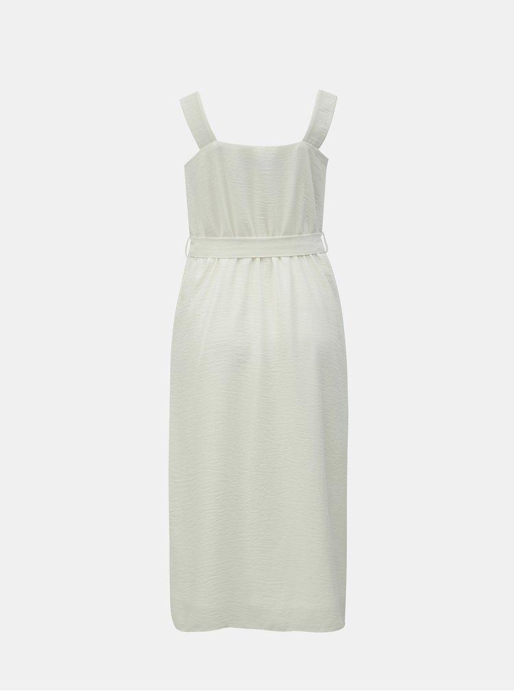 Bílé midi šaty Dorothy Perkins
