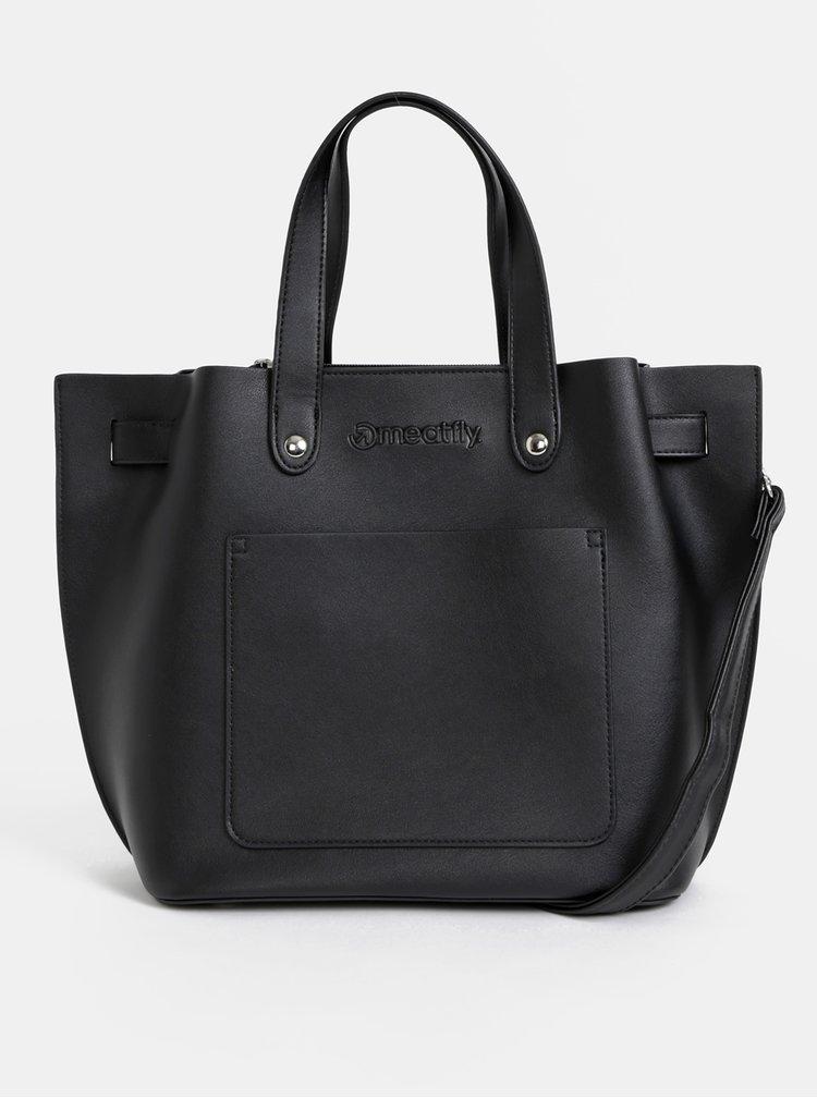 Černá kabelka s pouzdrem 2v1 Meatfly