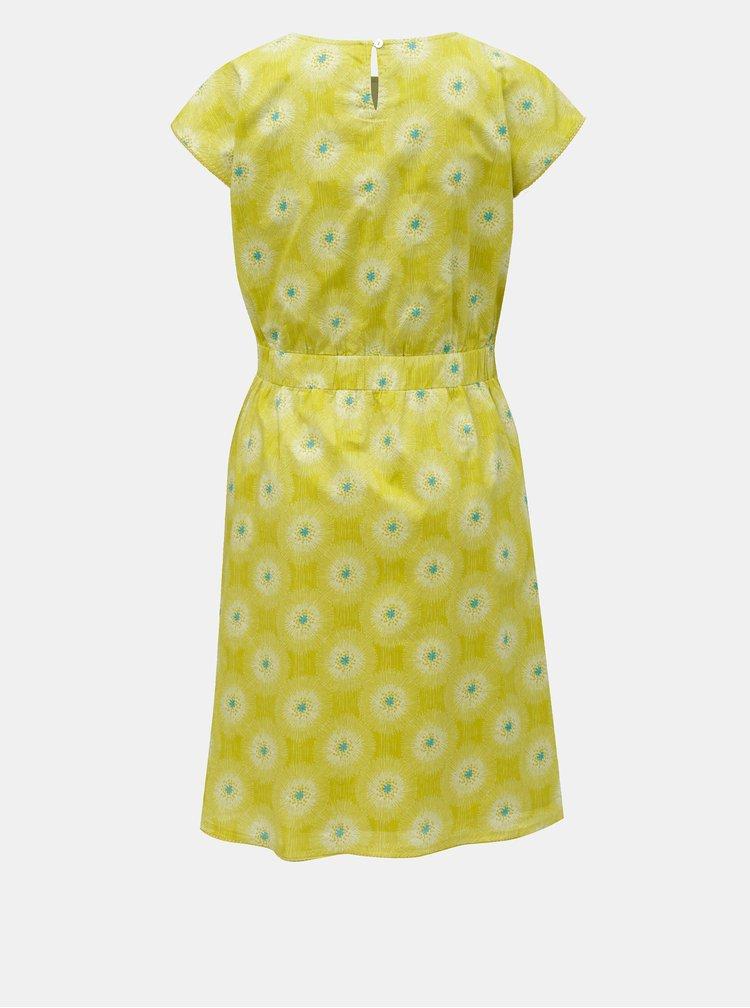 Světle zelené květované šaty Brakeburn Allium
