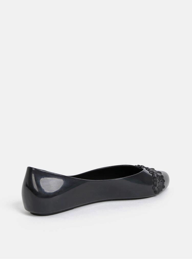 Čierne baleríny Zaxy