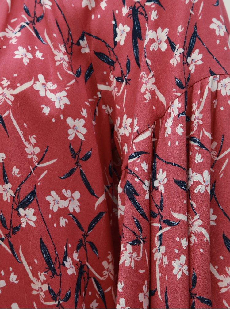 Ružová kvetovaná blúzka Ulla Popken
