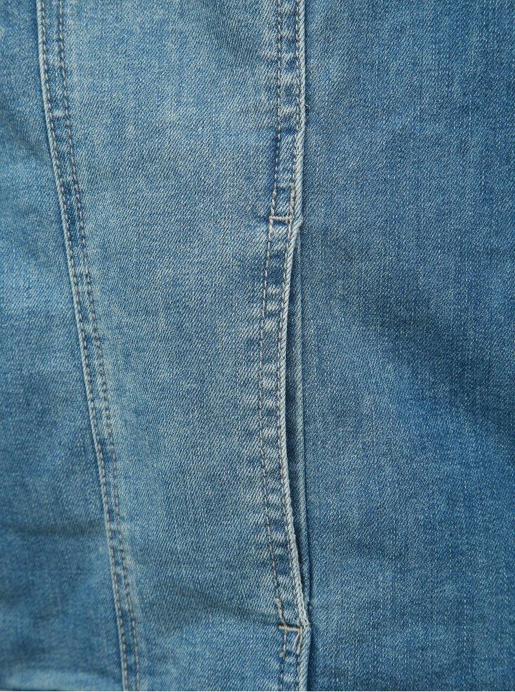 Modrá rifľová bunda Ulla Popken