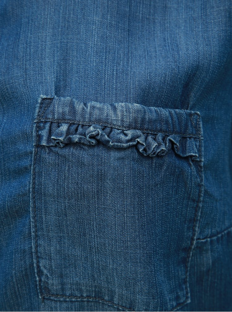 Modrá džínová košile Ulla Popken