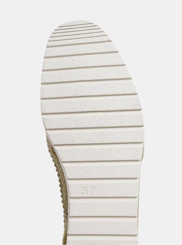 Pantofi slip on argintii cu aspect metalic OJJU