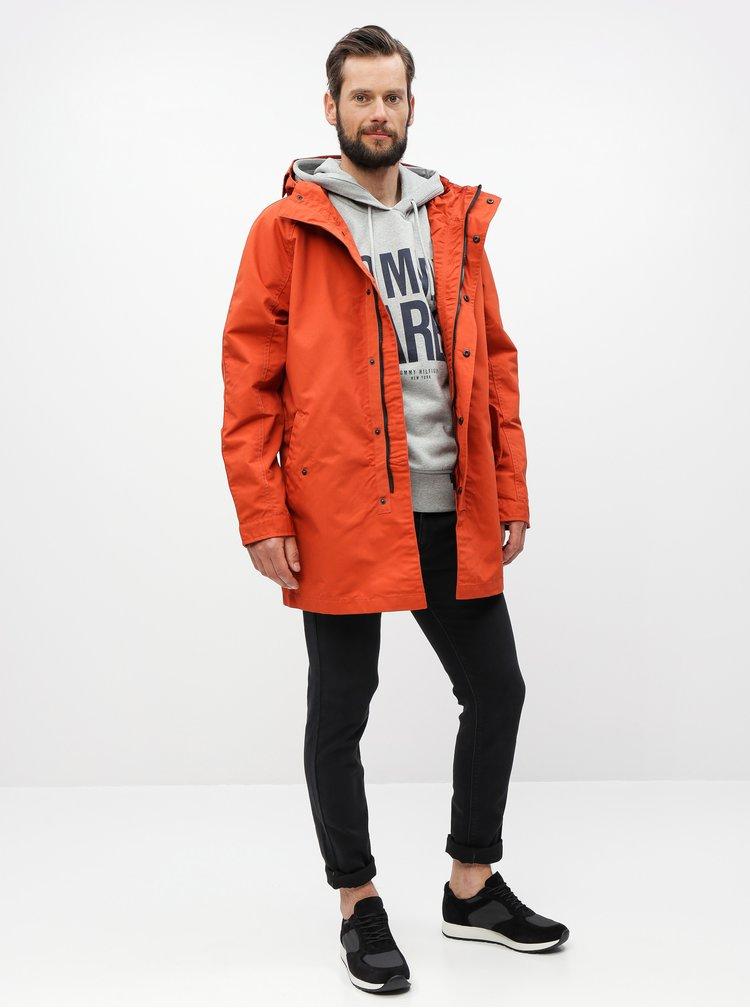 Jacheta parka caramizie Burton Menswear London