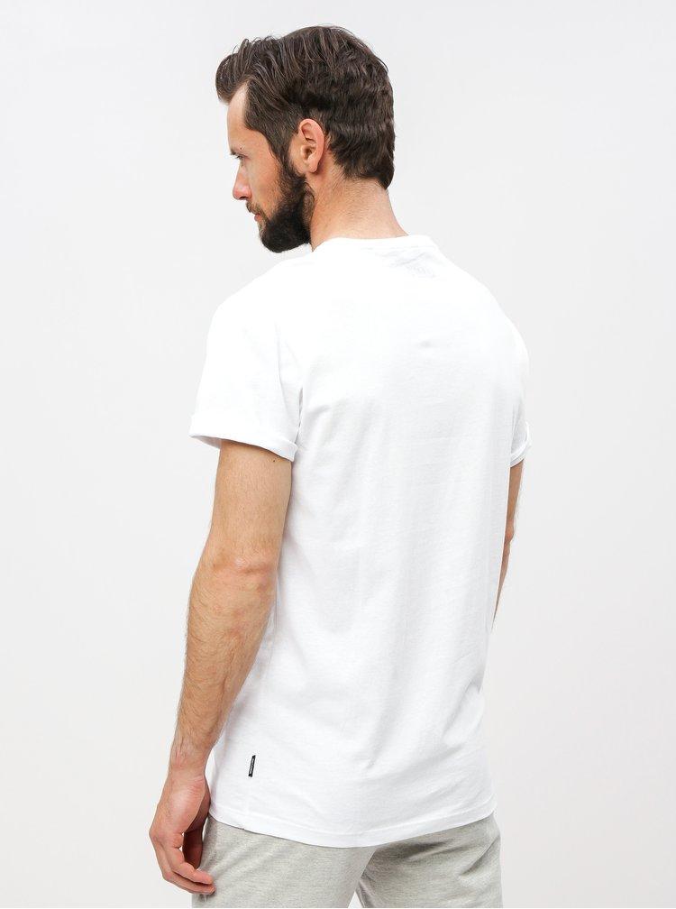 Bílé regular fit tričko s potiskem ONLY & SONS Fresh Coca Cola