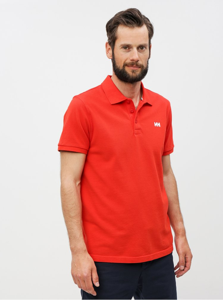 Tricou polo rosu regular fit HALLY HANSEN Transat