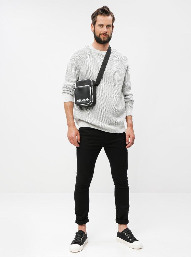 Geanta neagra peste umar adidas Originals Mini Vintage