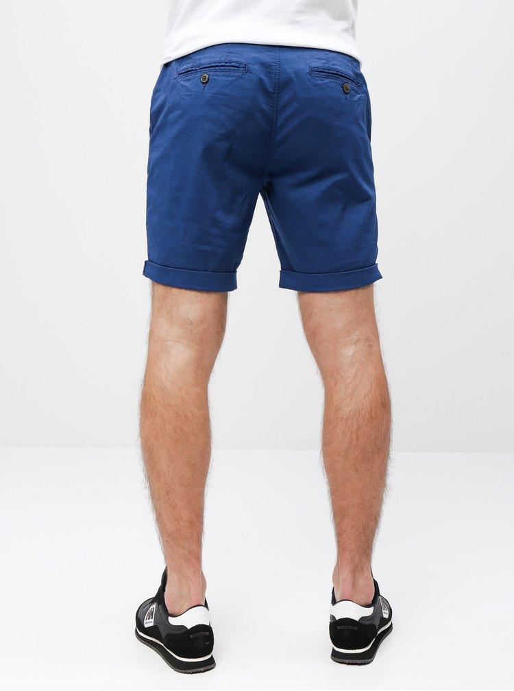 Pantaloni scurti albastri chino Selected Homme Paris