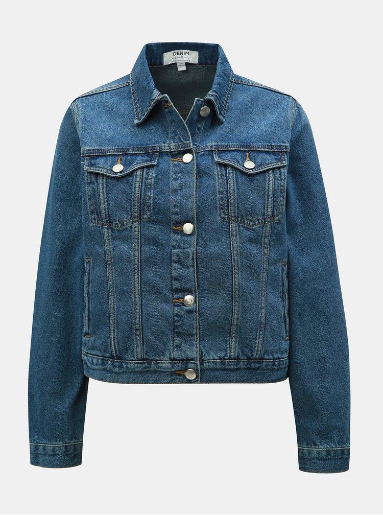 Jacheta albastra din denim Dorothy Perkins