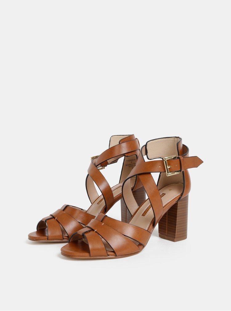 Sandale maro Dorothy Perkins