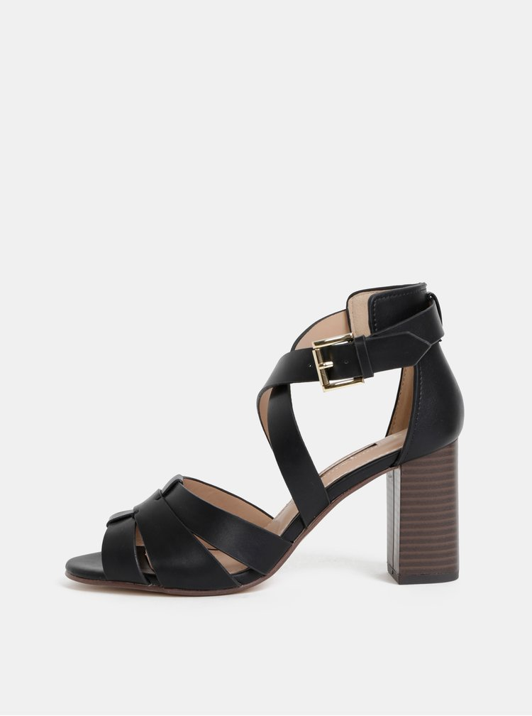 Čierne sandálky Dorothy Perkins