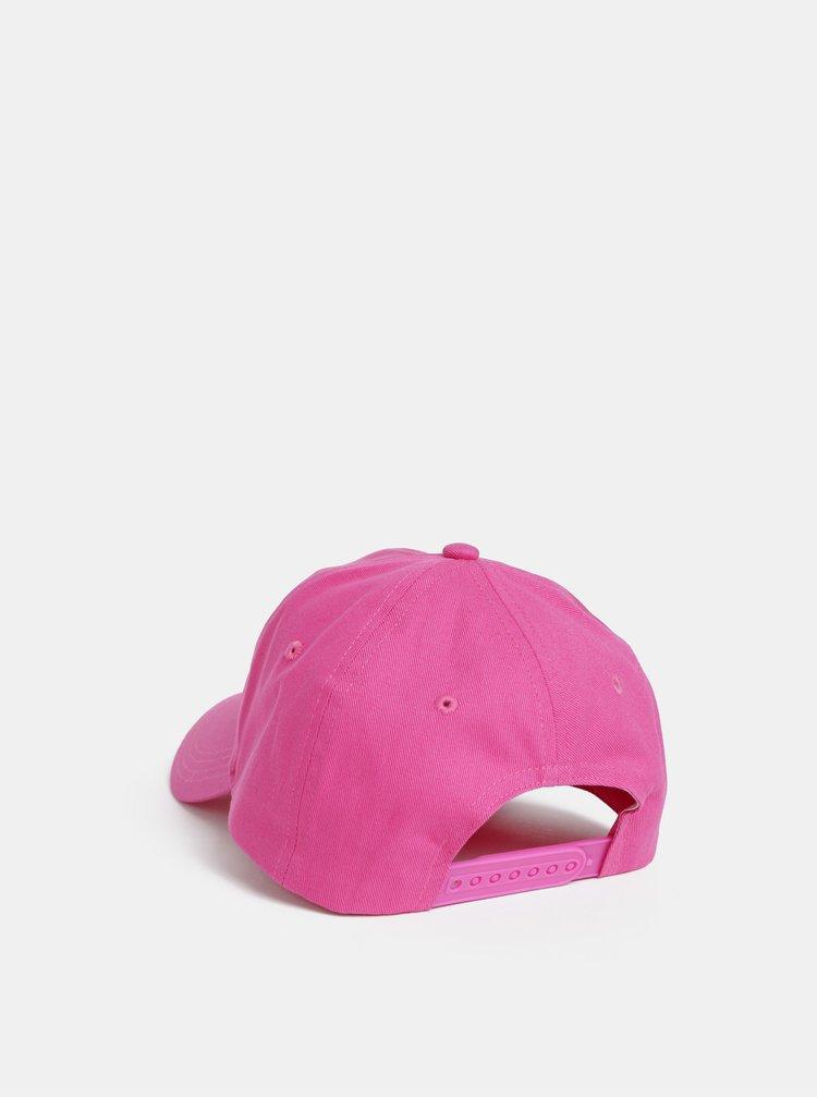 Ružová dámska šiltovka Calvin Klein Jeans