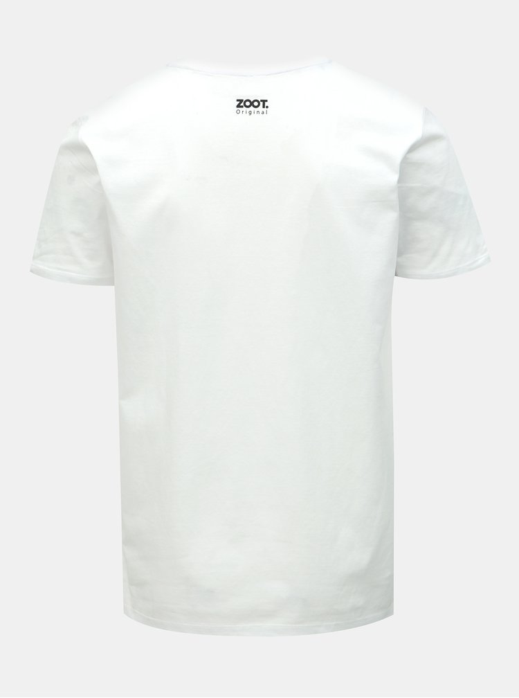 Bílé pánské hokejové tričko ZOOT Original Fandím, tedy jsem