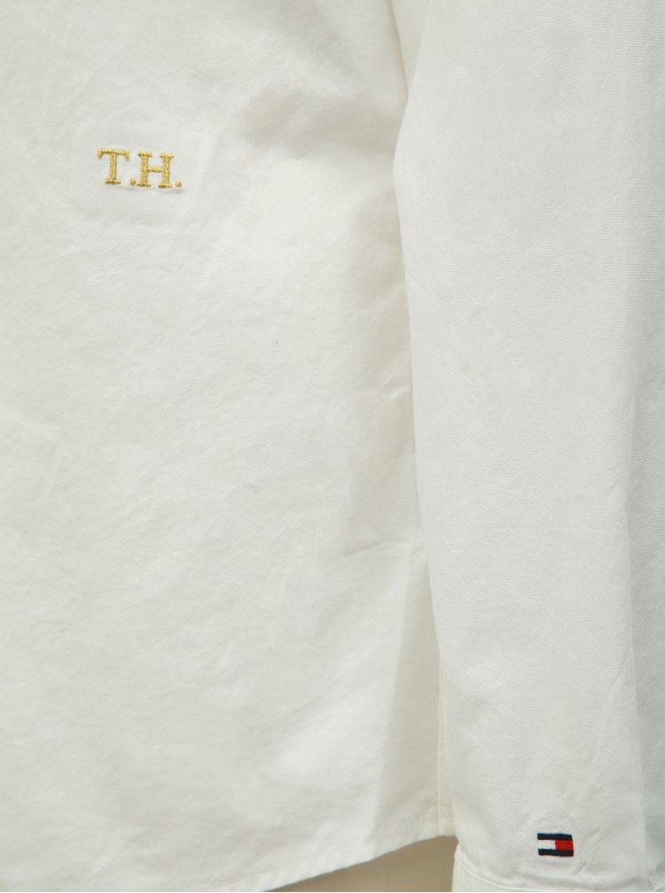Biela dámska košeľa Tommy Hilfiger Essential