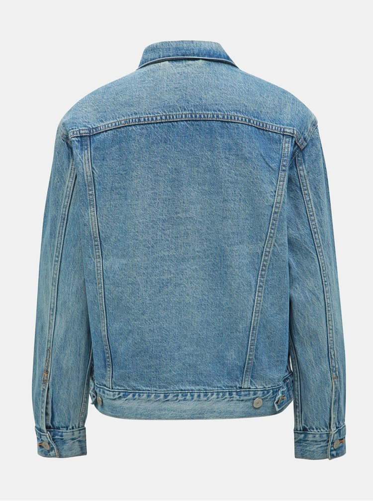 Jacheta albastra de dama din denim Levi's® Trucker