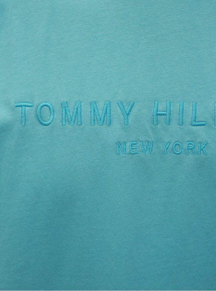 Modré pánské tričko Tommy Hilfiger