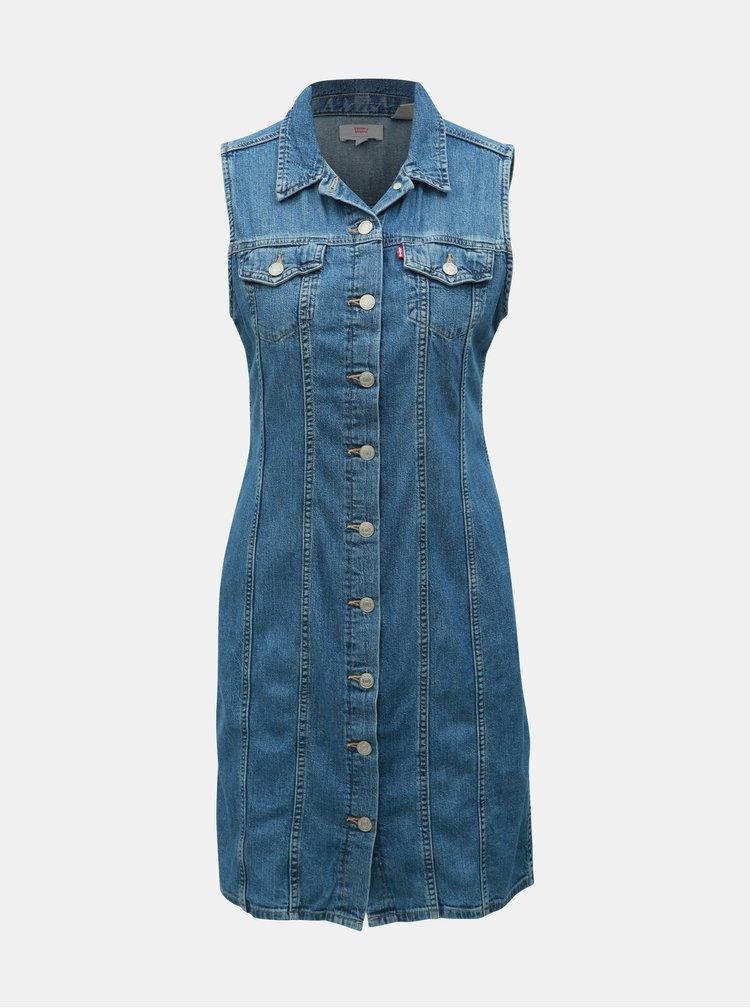 Modré rifľové šaty Levi's®