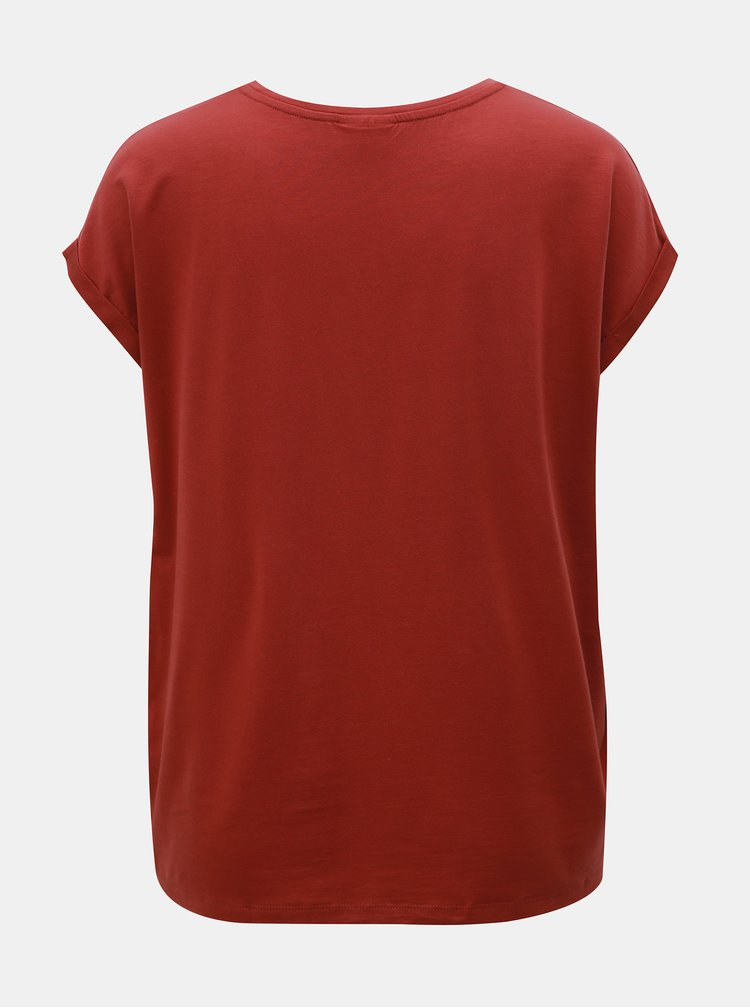 CIhlové basic tričko AWARE by VERO MODA Cina