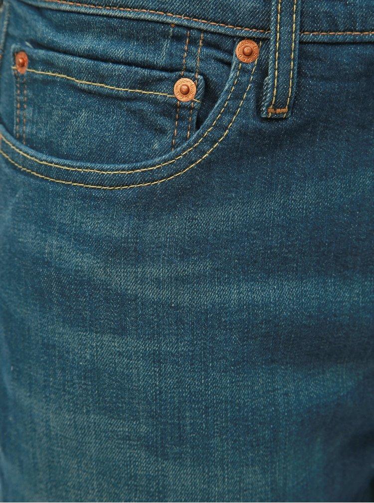 Blugi barbatesti albastru inchis slim fit Levi's® 511
