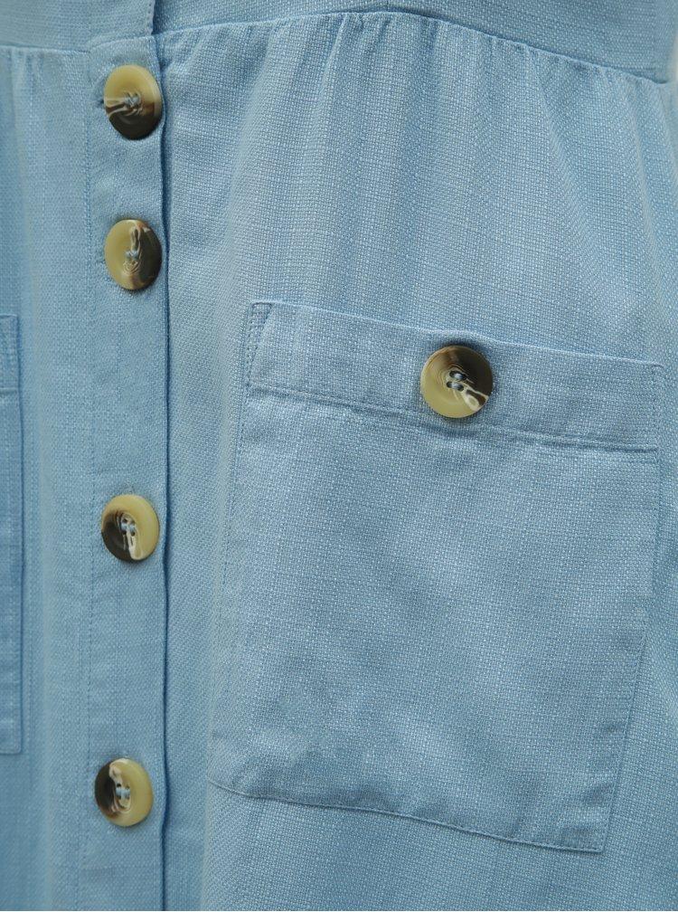 Modré midišaty VILA Luna