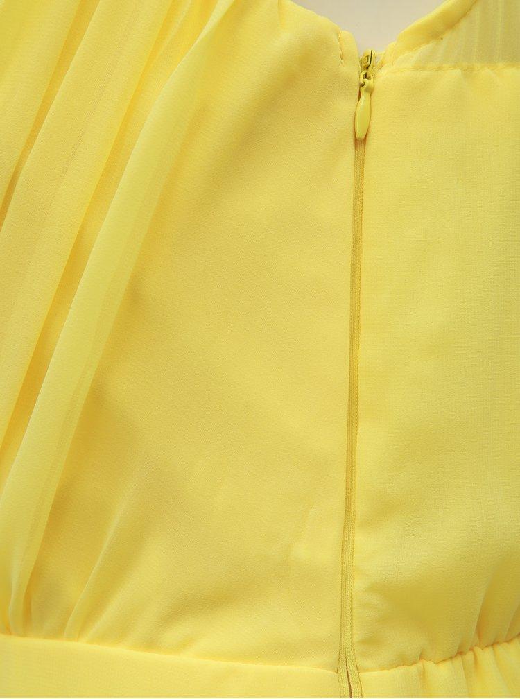 Žlté šaty VILA Alli