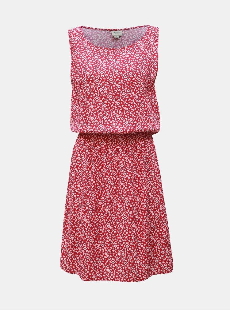 Růžové květované šaty Jacqueline de Yong Star