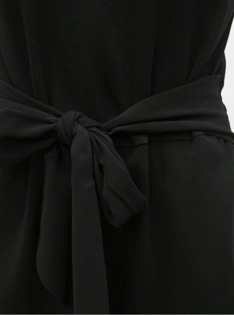 Černý krátký overal VILA Nathalia